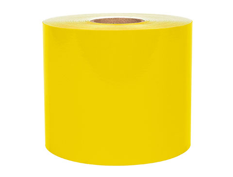 Roll of Yellow LabelTac Supply