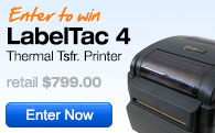 Enter to win a LabelTac 4 Label Printer