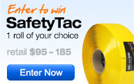 Enter to win a roll of SafetyTac Floor Marking Tape
