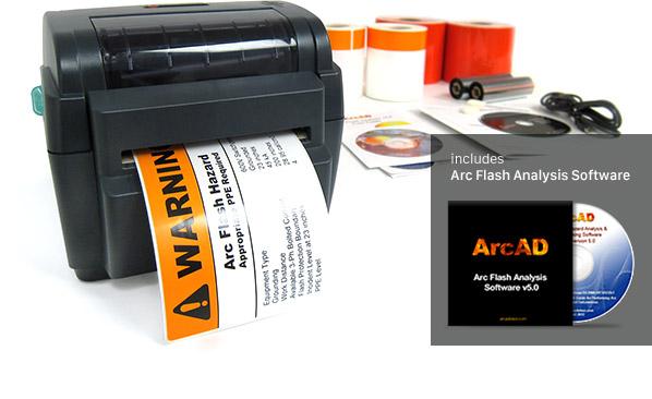 labeltac 4 arc flash package arc flash solution With arc flash label printer