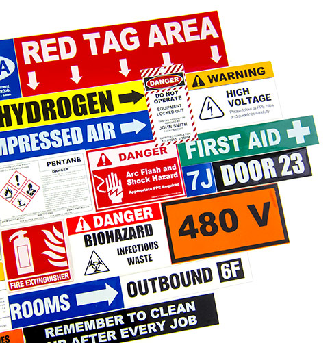 Printed Vinyl Signs and Labels