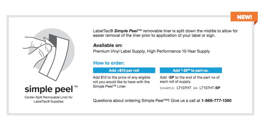 Simple Peel Supply